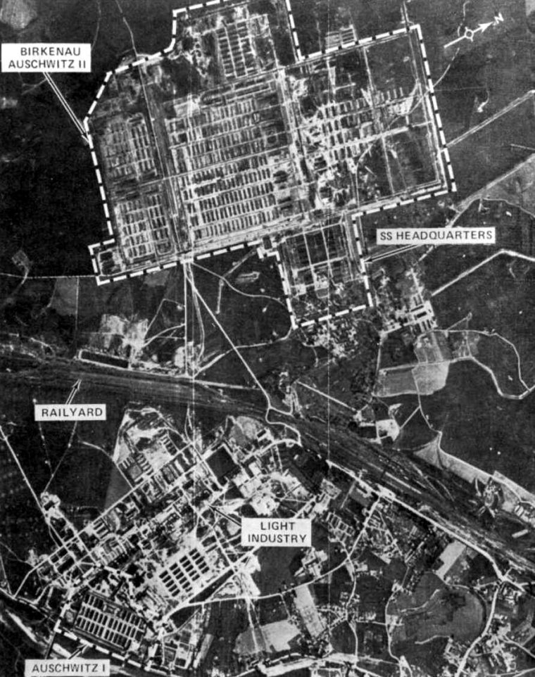 auschwitz-i-and-auschwitz-ii-birkenau-allied-aerial-reconnaissance-photograph-from-june-26-1944