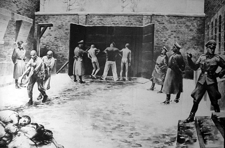 auschwitz-i-the-death-wall-by-wladyslaw-siwek-1950