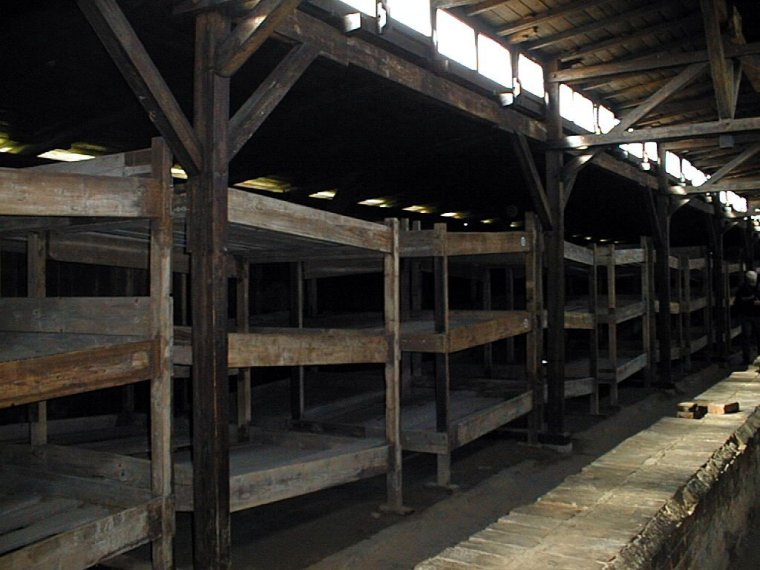auschwitz-ii-birkenau-auschwitz-ii-birkenau-the-interior-of-a-wooden-barrackphotograph-by-ryszard-domasik