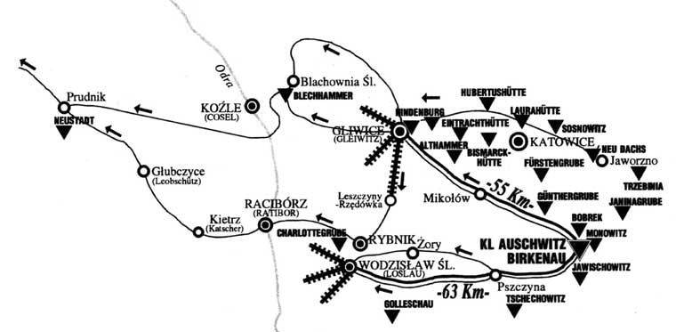 evacuation-routes-for-auschwitz-concentration-camp-prisoners-in-1945